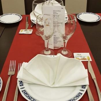 Plato en mesa